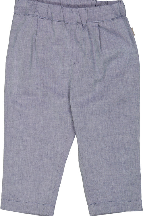 WHEAT Trousers Nate Blue