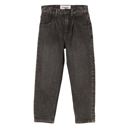 FINGER IN THE NOSE Solange Black Snow Jeans