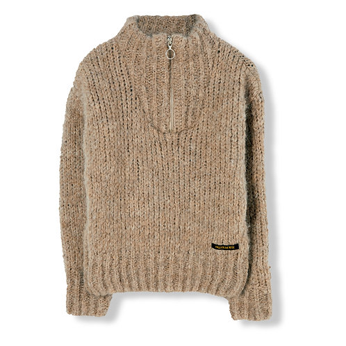 FINGER IN THE NOSE Creek Zipped Jumper