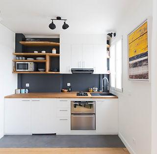 rénovation d'une cuisine pour un studio