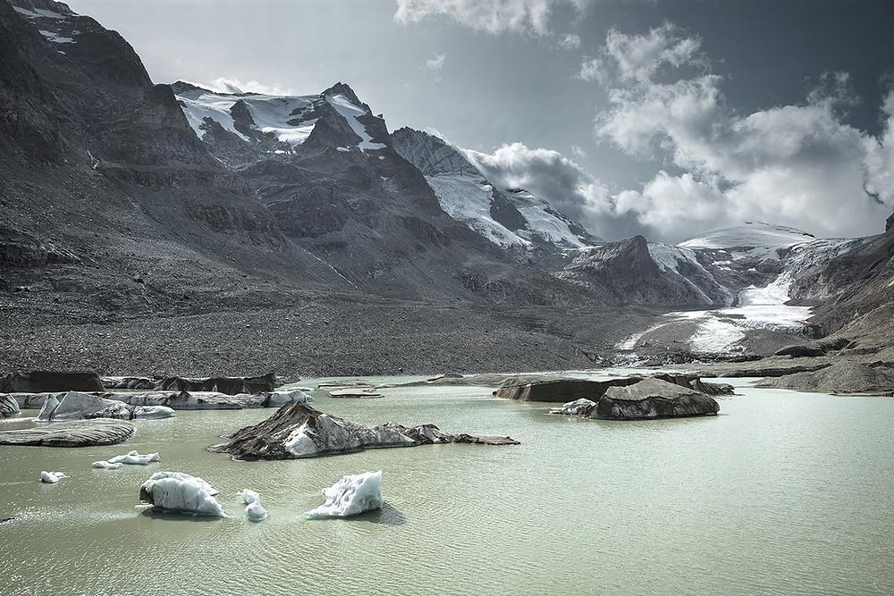 Remains of a Glacier