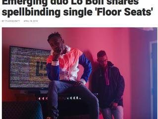 Emerging duo Lo Boii shares spellbinding single 'Floor Seats'