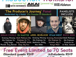 Business of Music Production Workshop @ IAR