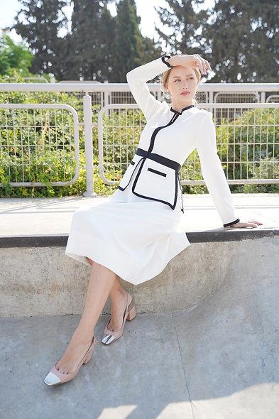 שמלת קליפורניה לבנה