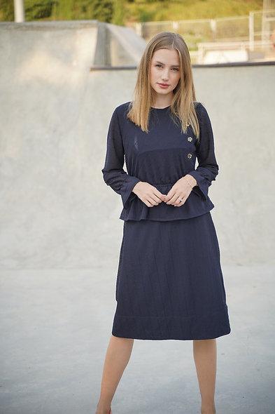 שמלת ונציה כחולה