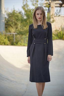 שמלת אנקרה שחורה