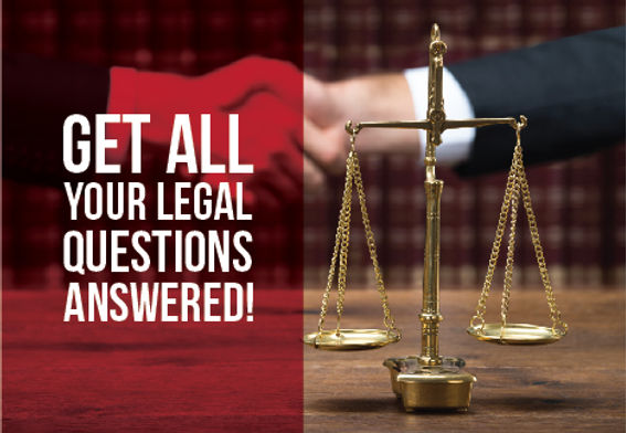 """Attorney Postcard """"We Have Answers"""""""