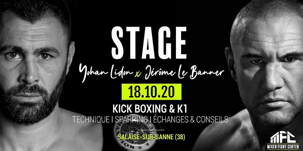 Yohan Lidon X Jérôme Le Banner // Stage K1 & Kick boxing
