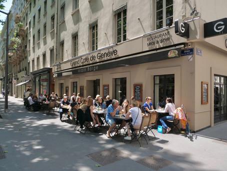 Ouverture de la terrasse du Grand Café de Genève : ENFIN !