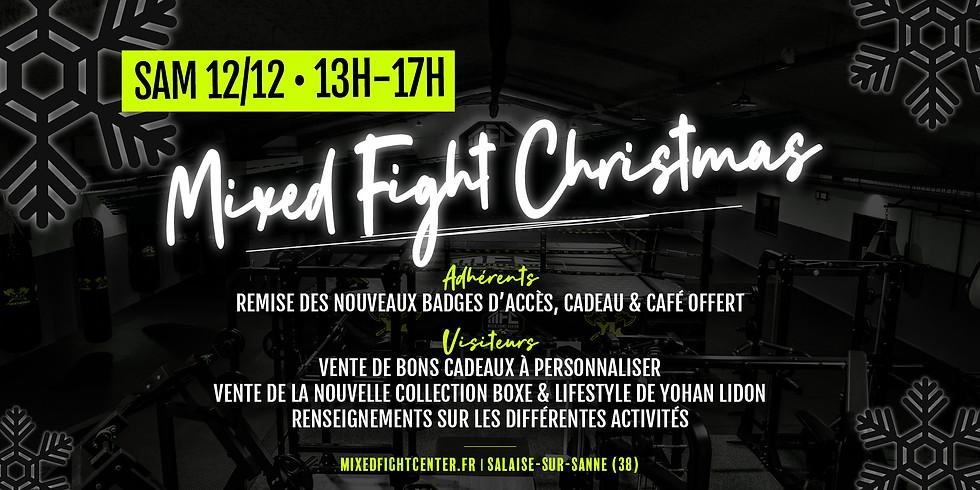 Mixed Fight Christmas ! • Sam. 12/12 de 13h à 17h