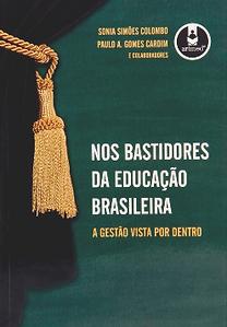 Nos Bastidores da Educação Brasileira | capa do livro com participação da Urban Systems Brasil