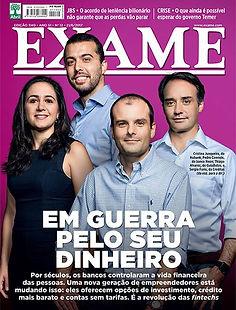capa revista Exame com estudo da Urban Systems Brasil