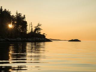 Swanson Island Sunset