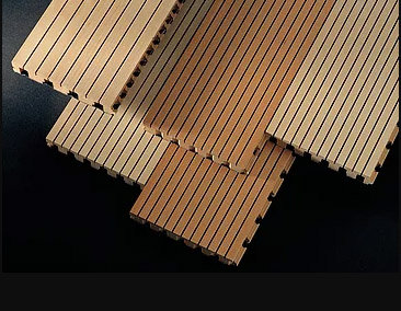 Grooved Acoustic Panel