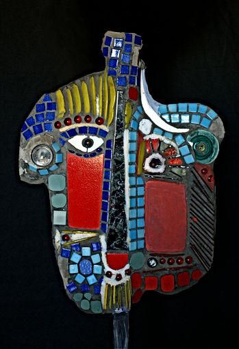 Double personnage Portrait Picasso
