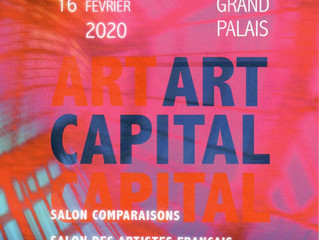 GRAND PALAIS PARIS - Art CAPITAL du 12 au 16 février 2020