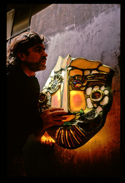 1992 Stanko face au masque