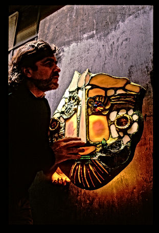 Exposition masque avec Stanko