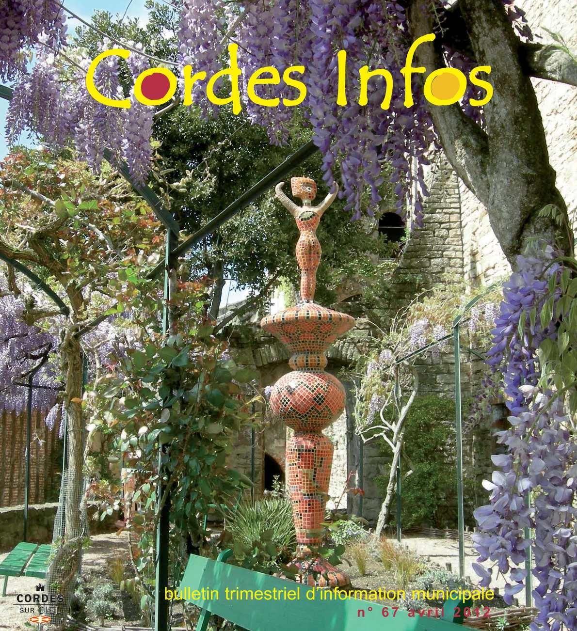 Cordes info 2012