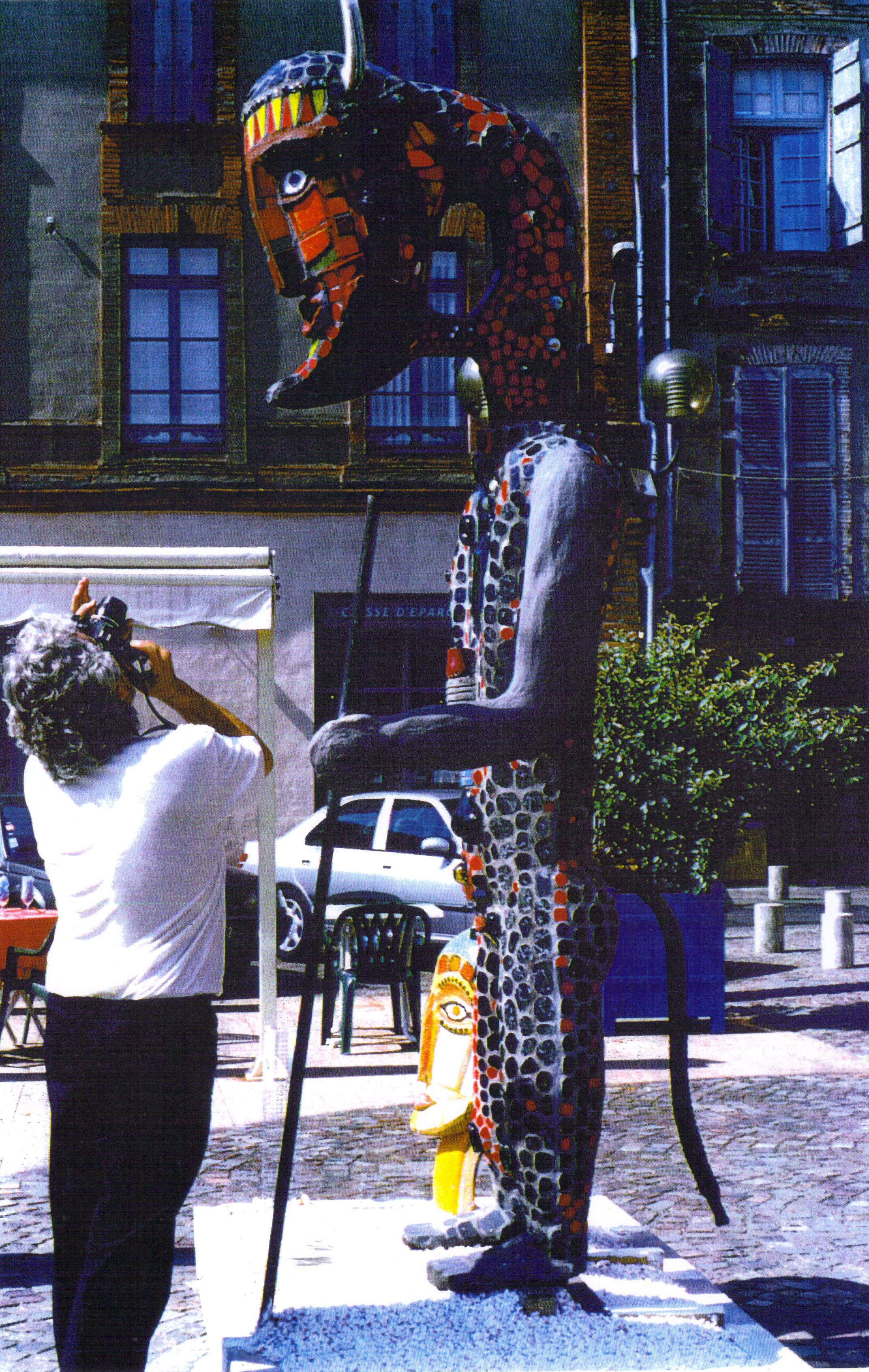 Le minotaure à Montauban 1999