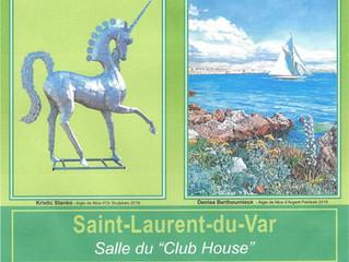 INVITE D'HONNEUR 32ème AIGLE DE NICE  du 27.10 au 08.11.2020