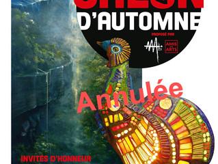 INVITE D'HONNEUR Salon Amis des Arts du 1er au 22 Novembre 2020 - SALON D'AUTOMNE REPORTEE 2021