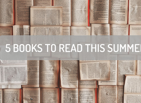 5 Books to Read This Summer