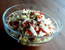 Kleiner bunter Salat