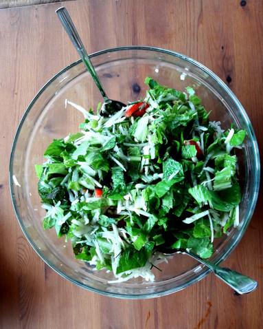 Gesunder grüner Salat