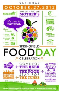 Springfield Food Day Celebration Poster