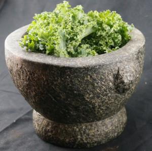mortar kale