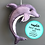 Thumbnail: Sew your own  Dolphin decoration, plushie sewing kit.
