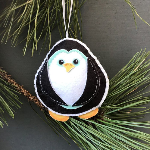 Sew your own Penguin plushie sewing kit.