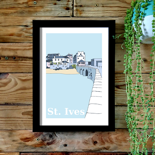 St Ives A4 or A3 UNFRAMED print