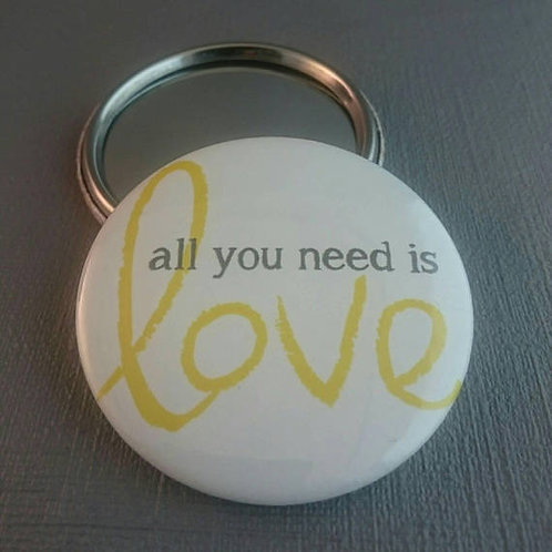 All you need is Love pocket mirror