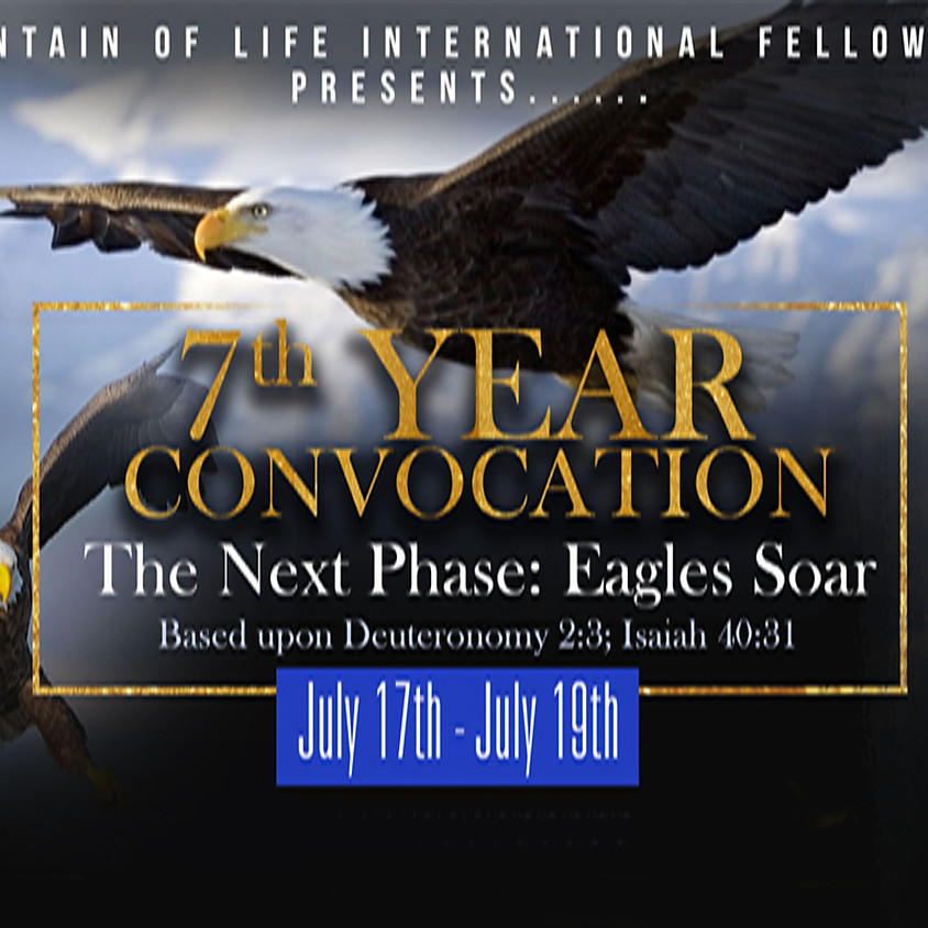 Fountain of Life International Fellowship, Inc Convocation 2019