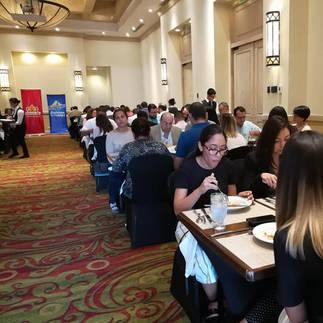 Hora del almuerzo del Taller Marketing Gastronómico Tegucigalpa