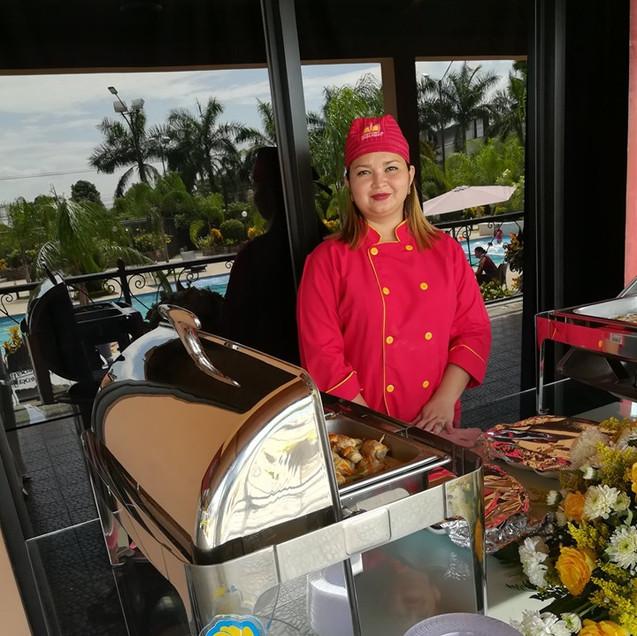 Pollo Norteño en el Taller Marketing Gastronómico San Pedro Sula