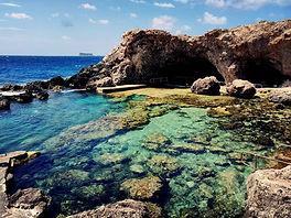 GHAR LAPSI CAVE SITE PLONGÉE DIVE SITE - French Touch Diving Centre Plongée à Malte Gozo - Scuba Diving Dive Center Malta Gozo