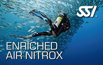 ENRICHED AIR NITROX AIR ENRICHI  - French Touch Diving Centre Plongée à Malte Gozo - Scuba Diving Dive Center Malta Gozo