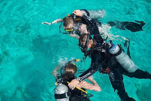 Initiation de plongée