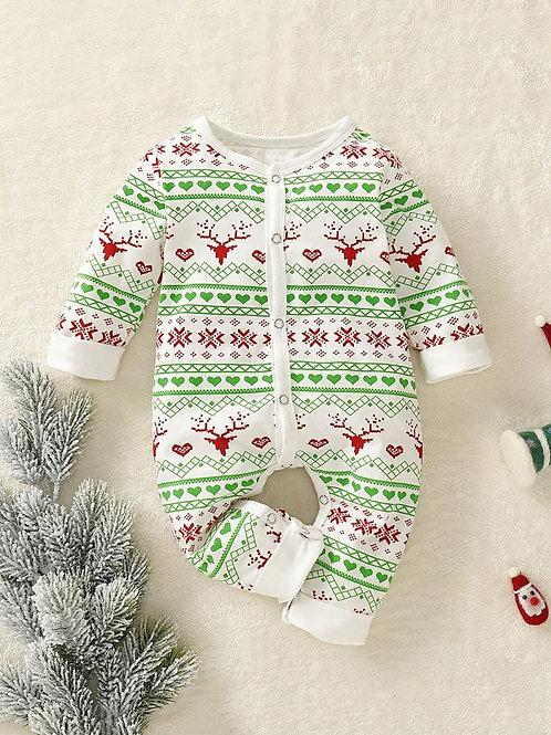 Christmas Deer Jumpsuit