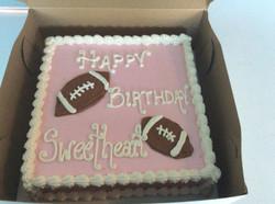 Football Sweetheart