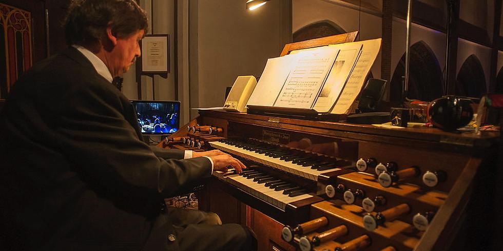 Vocaal Ensemble uit Kamerkoor Zuid, Rick Muselaers (orgel) & Frans Bullens (orgel)