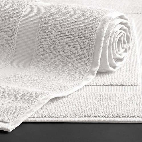 100% Premium Cotton Hotel Bath Mat 20x30