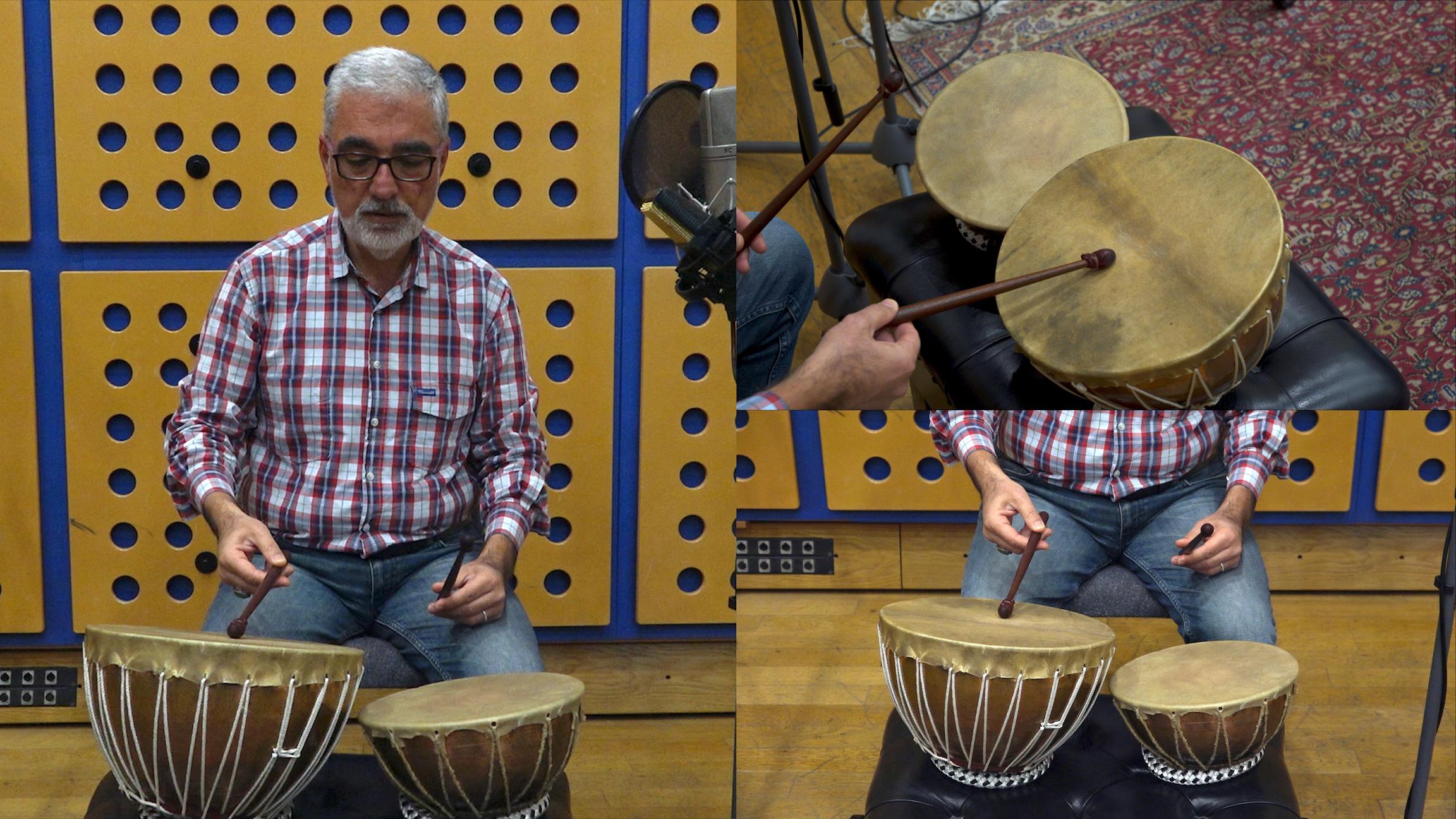 Fahrettin Yarkın (percussion)