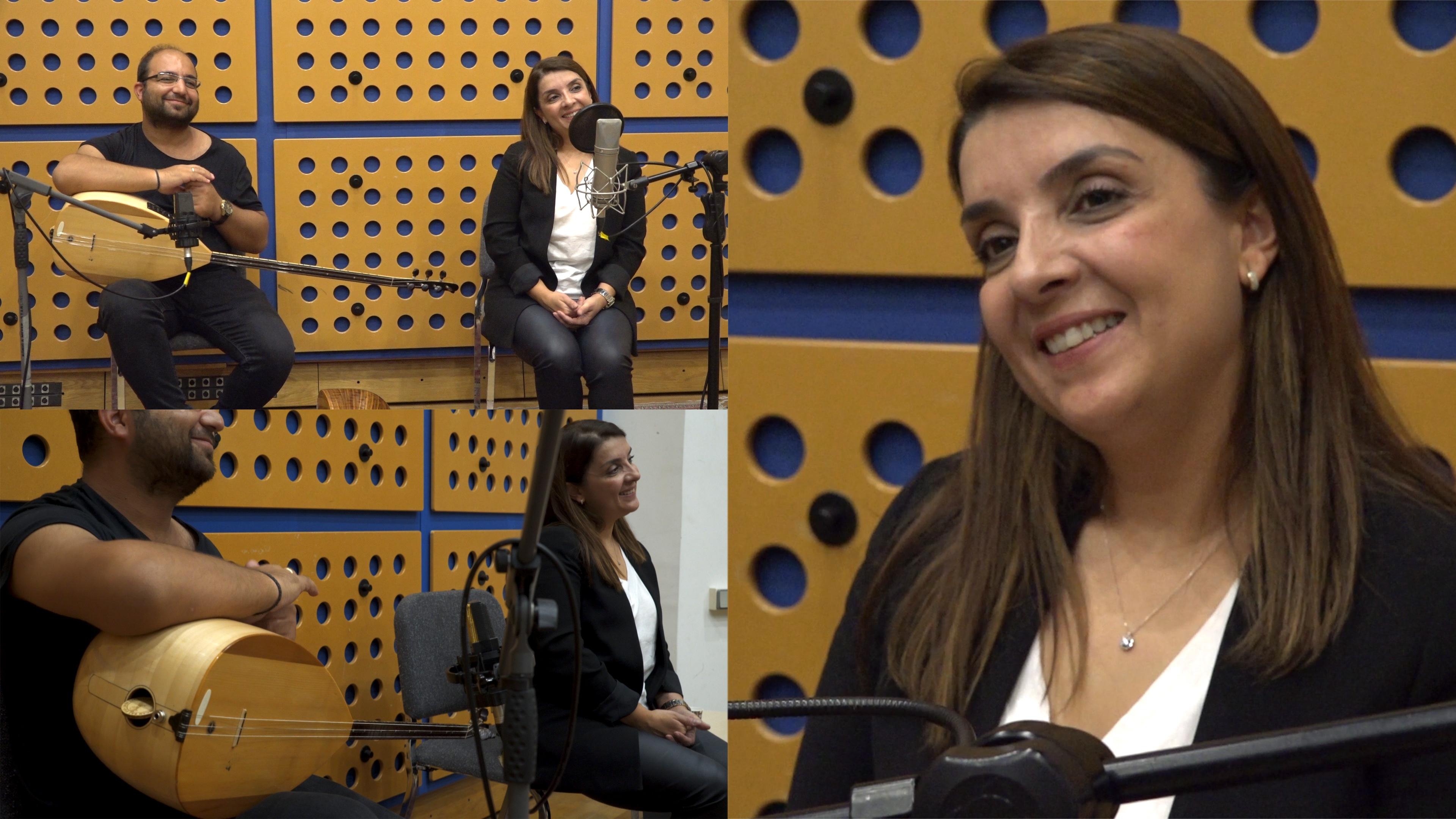 Adile Kurt Karatepe (vocal) and Ayhan Aydın (bağlama)
