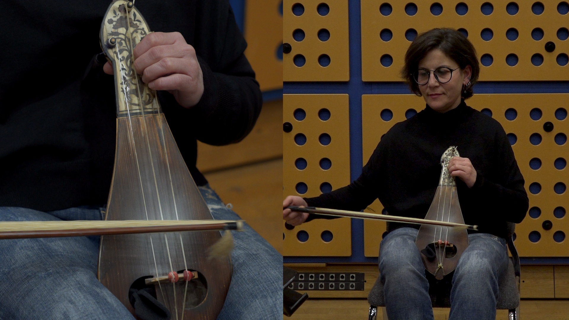 Neva Özgen (three-stringed kemençe)