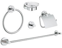Grohe Essentials Chrome Accessories Pack