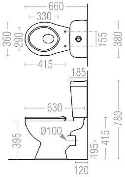4071-Close-Coupled-Raised-Push-Button-Di